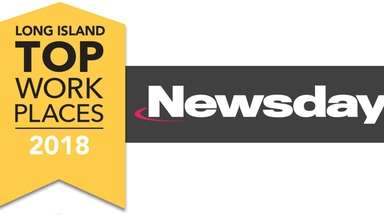 Newsday logo for Top Workplaces 2018.