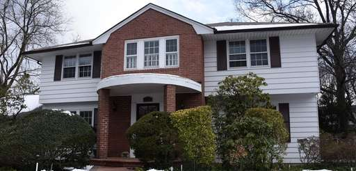 A home for sale in Westbury on Thursday.
