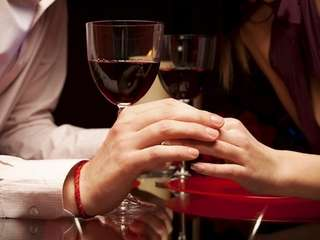 Looking for a great date? Sipping wine at