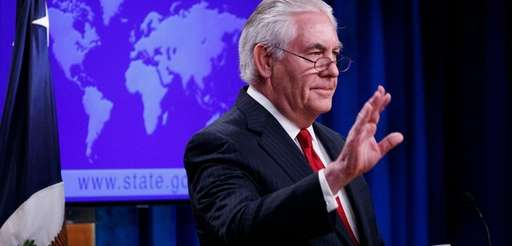 Rex Tillerson delivers farewell remarks in the State