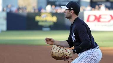 Yankees second baseman Neil Walker during the first