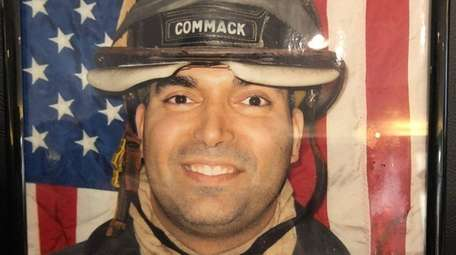 Christopher J. Raguso in his Commack Fire Department
