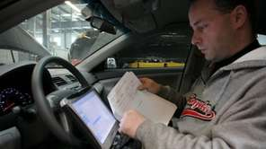Brian Haas, a service technician at a Toyota