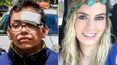 Orlando Tercero, left, shown Tuesday in Managua, Nicaragua,