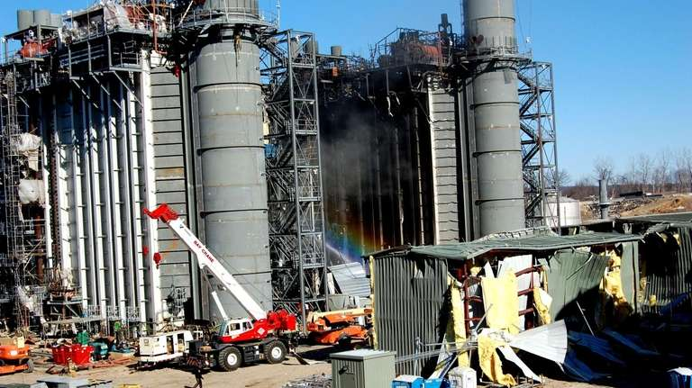 An explosion blew apart the Kleen Energy plant