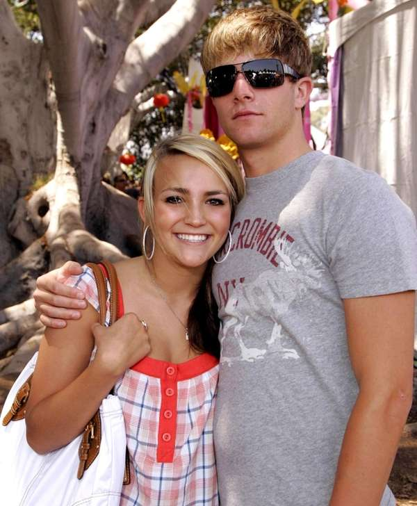 Jamie Lynn Spears and the father of her