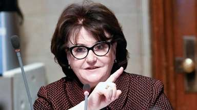 State Education Commissioner MaryEllen Elia outlined the new