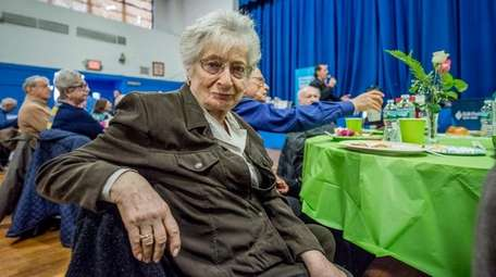 Thea Rodrigues Pereira, a Holocaust survivor, from Syosset,