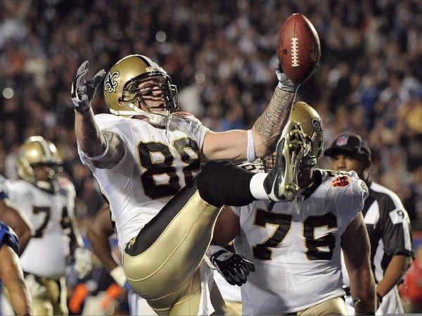New Orleans Saints tight end Jeremy Shockey (88)