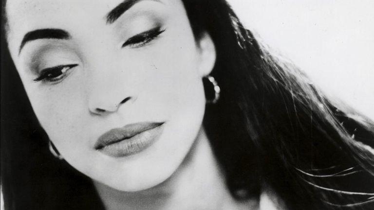 British/Nigerian singer Sade in 1991.