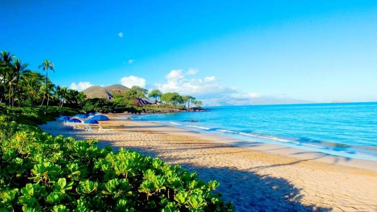 Makena Beach and Golf resort in Maui, Hawaii.
