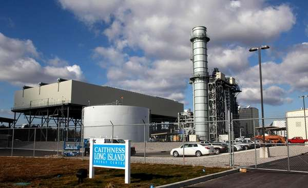 LIPA's Caithness power plant in Yaphank. (Jan. 20,