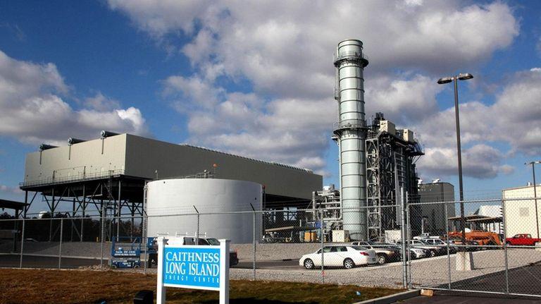 LIPA's Caithness power plant in Yaphank. (Jan. 20,