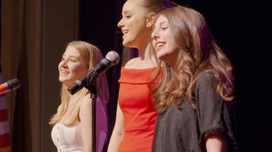 From left, Kate Magocsi, Charlotte Kerpen and Becca