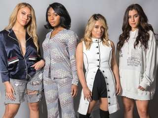 From left, Dinah Jane, Normani Kordei, Ally Brooke