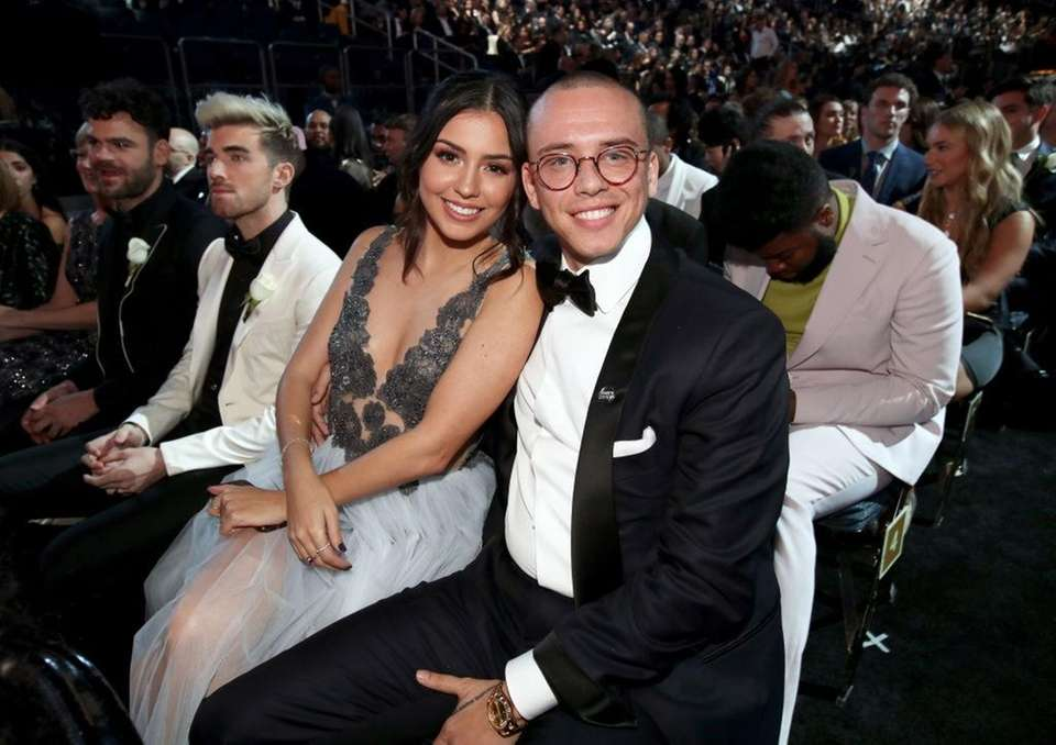 Rapper Logic and his wife, Jessica Andrea, separated