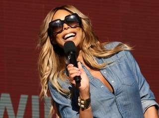 Wendy Williams at the Global Citizen Festival in