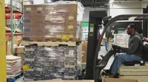 Goya Foods, on Monday, donated 40,000 pounds of food