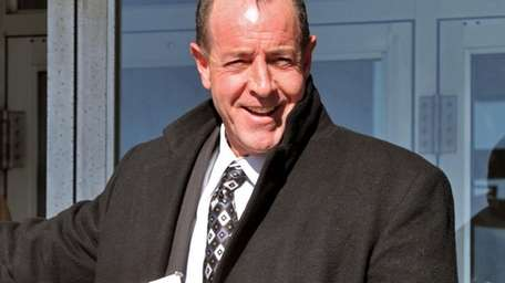 A smiling Michael Lohan, the father of actress