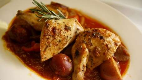 Grandma's chicken scarpariello is one of the Italian