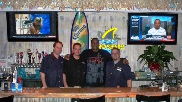 Dwight Gooden and crew of Hurricane Grill &