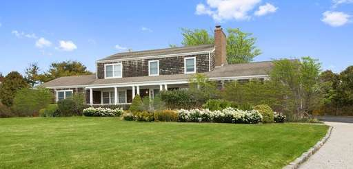 The Water Mill home sits on 1 acre
