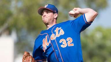 Mets pitcher Steven Matz during a spring training