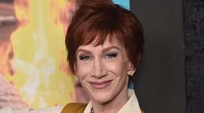 Kathy Griffin attends an HBO documentary screening on
