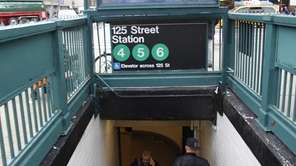 An MTA worker died Tuesday after falling at