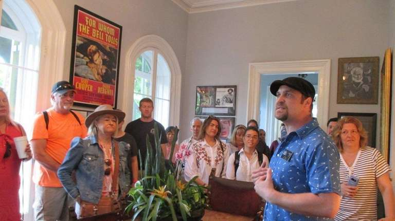 A tour of the Ernest Hemingway Home &