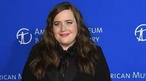 Aidy Bryant attends a gala at American