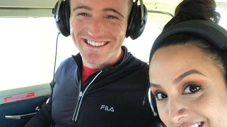 Michael Naccari and Alma Lopez in