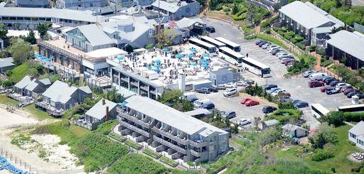 Gurney's resort in Montauk on June 5, 2013.