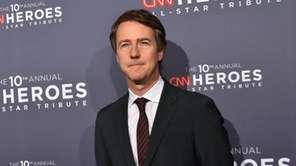 Edward Norton at the CNN Heroes Gala in