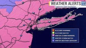News 12 Long Island meteorologist Bruce Avery had
