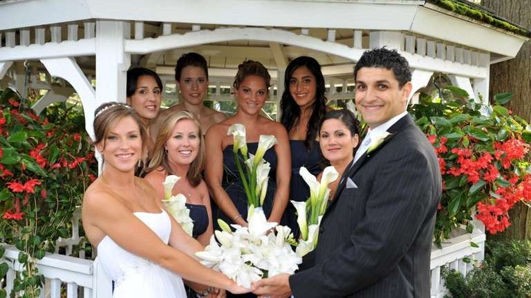 Mary Zellman, the mother of the pictured bride,