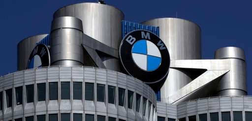 BMW headquarters in Munich, Germany on May 10,