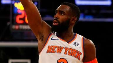 Knicks forward Tim Hardaway Jr. follows through on