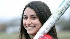 Sacred Heart senior softball player Marissa Braito on
