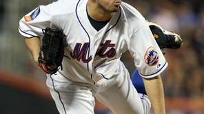 Oliver Perez #46 of the New York Mets
