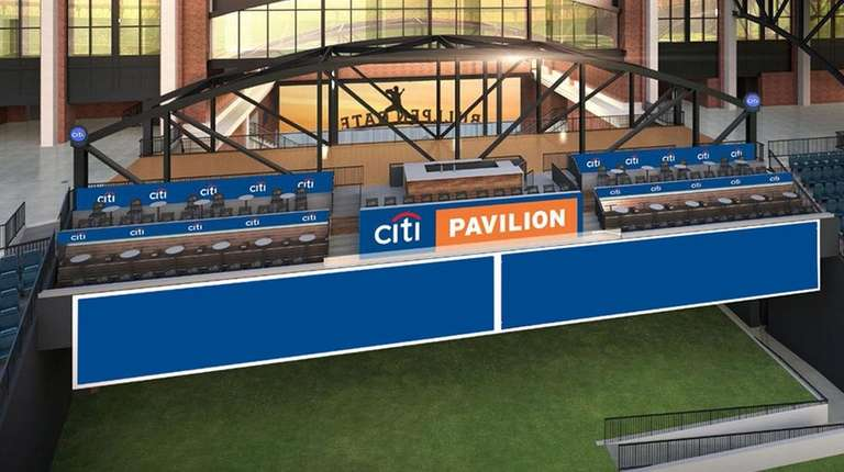 A rendering of the new-look Citi Pavilion at