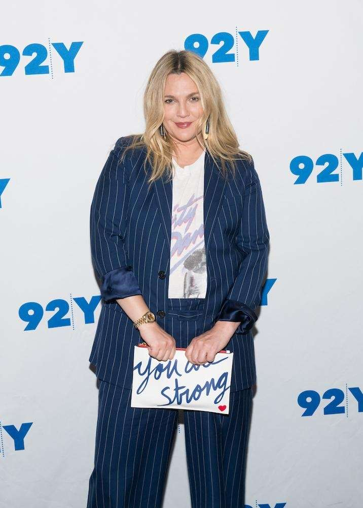 Drew Barrymore visits the 92nd Street Y in