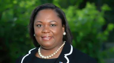 Charlene Thompson, commissioner of the Hempstead Village Community