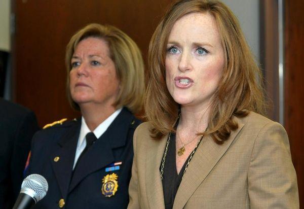 Nassau County District Attorney Kathleen Rice announces 21