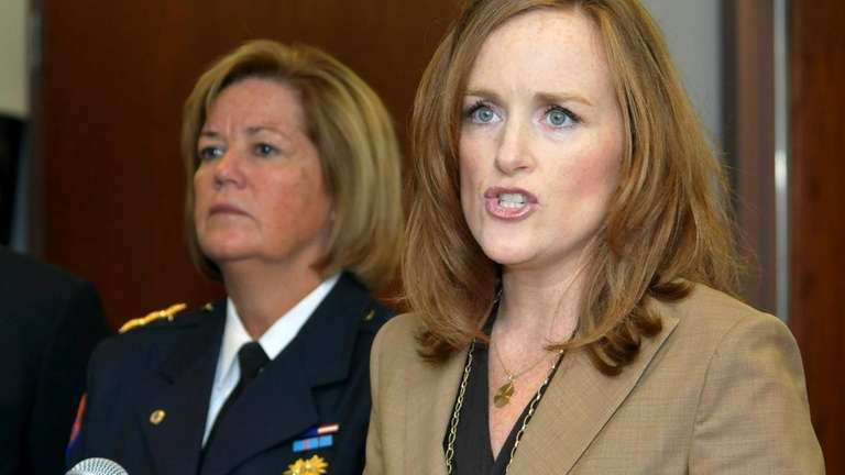 Nassau County District Attorney Kathleen Rice announces 21