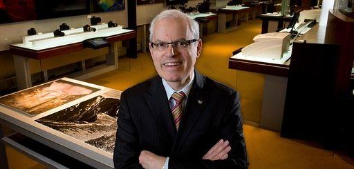 Seymour Liebman, executive vice president of Canon's headquarters