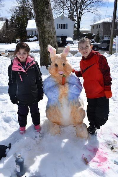 Snow Peter Rabbit