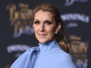 Celine Dion attends the world premiere of
