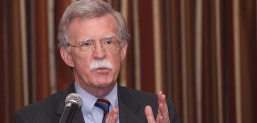 Former United Nations Ambassador John Bolton, addresses a