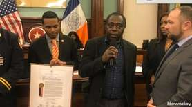 The City Council presented a proclamation on Thursday